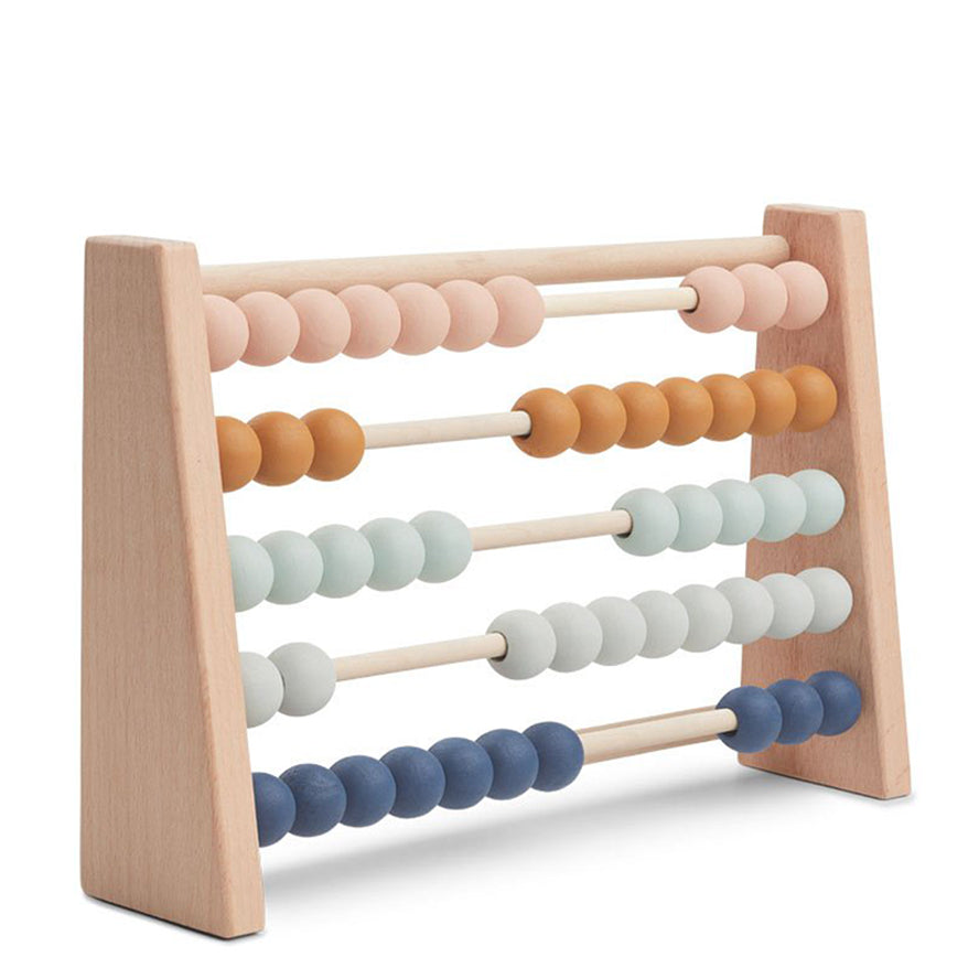 Liewood Amy Abacus Kids Wooden Learing Toys