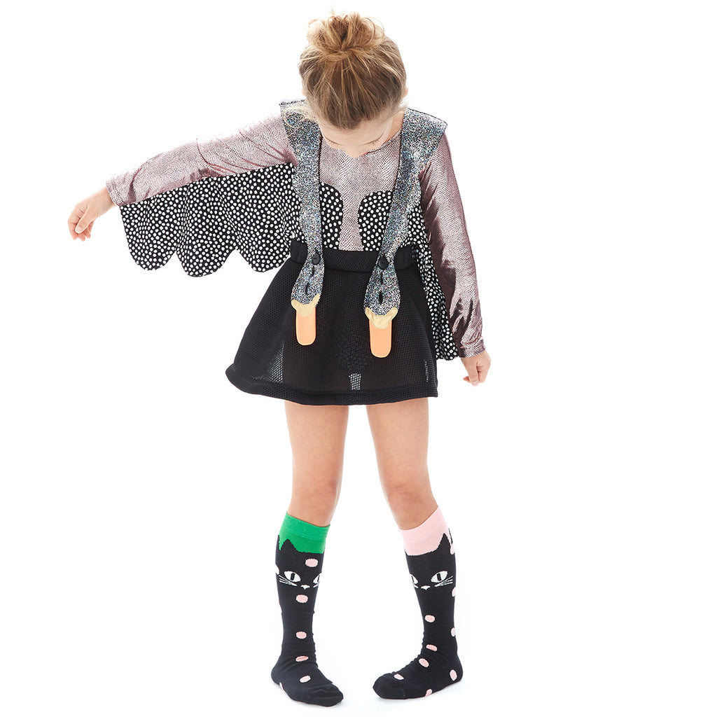 Bang Bang Copenhagen Black Bird Girls Dress