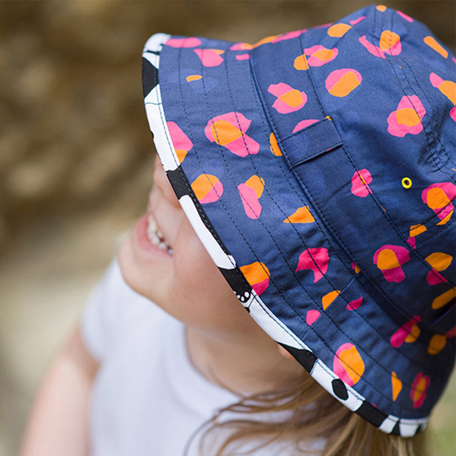Little Hotdog Watson Kids Adventurer Sun Hat - NavyKin