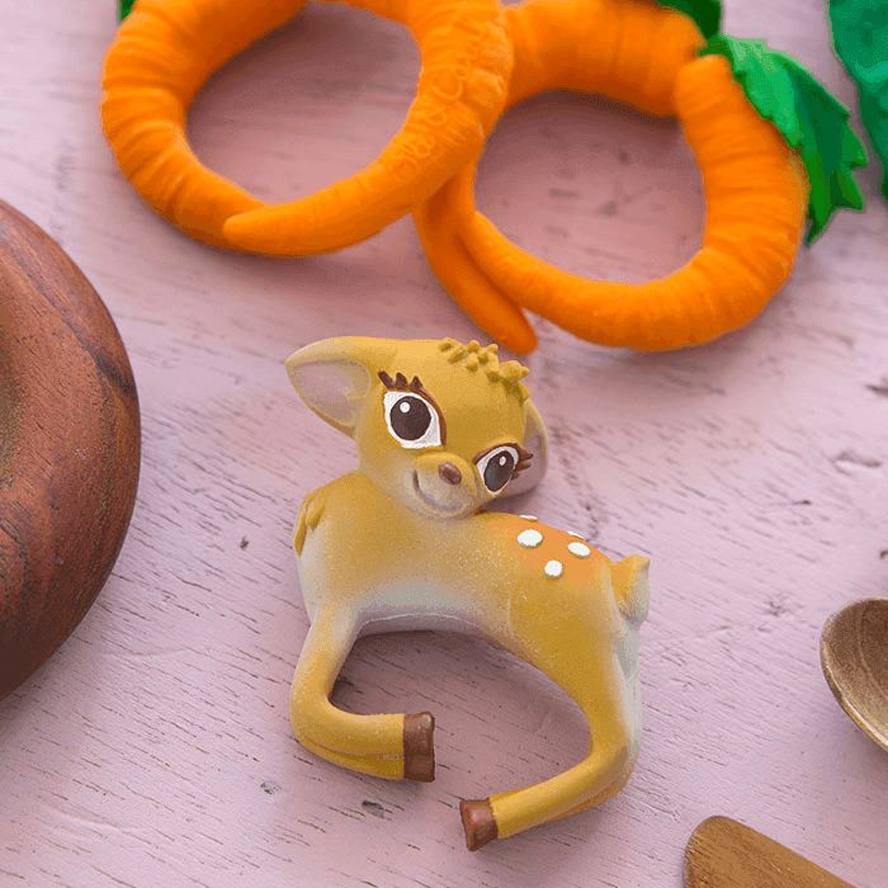 Oli & Carol Chewable Teething Bracelet - Olive The Deer