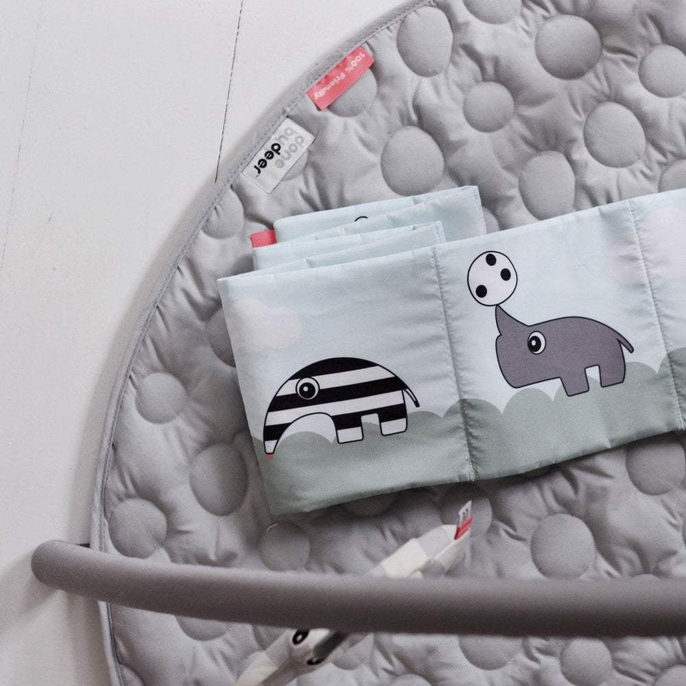 Done by Deer Activity Baby Gym Playmat - Grey