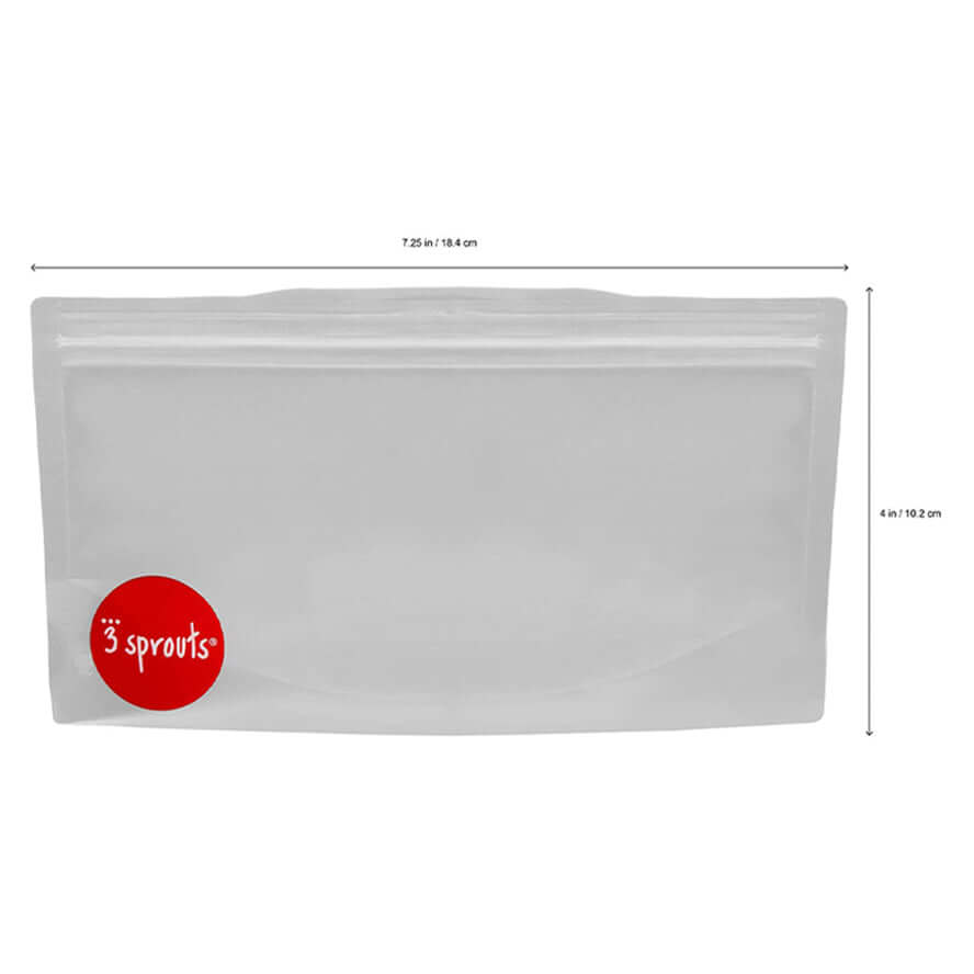 3 Sprouts Snack Bags 2 pack - Fox