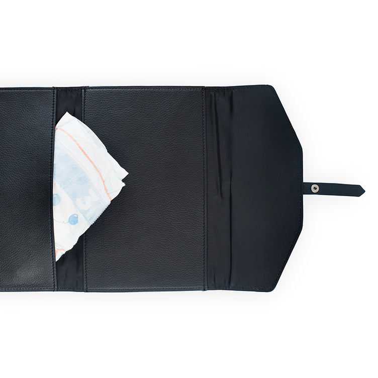 Jollein Diaper Pouch Leather Black