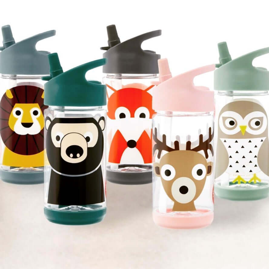 3 Sprouts Kids Water Bottle - Owl