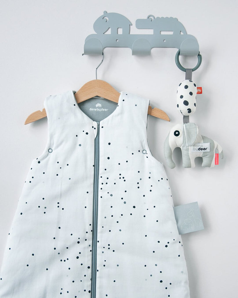 Done by Deer Sleepy Bag Tog 2.5 - Dreamy Dots White