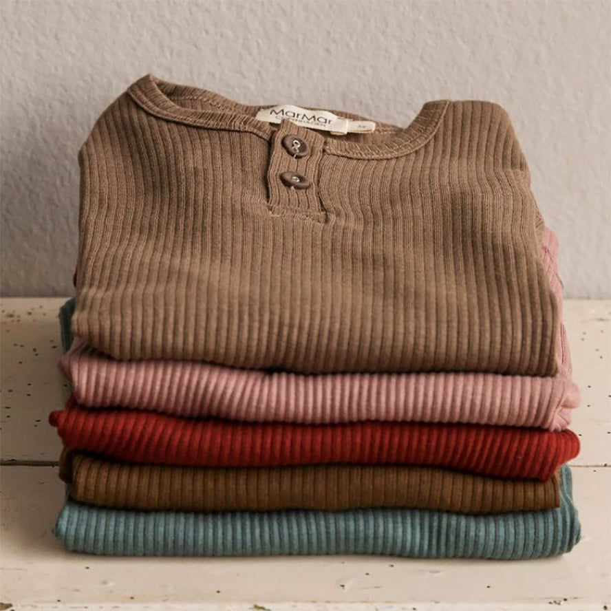MarMar Copenhagen Long Sleeve Tee With Buttons