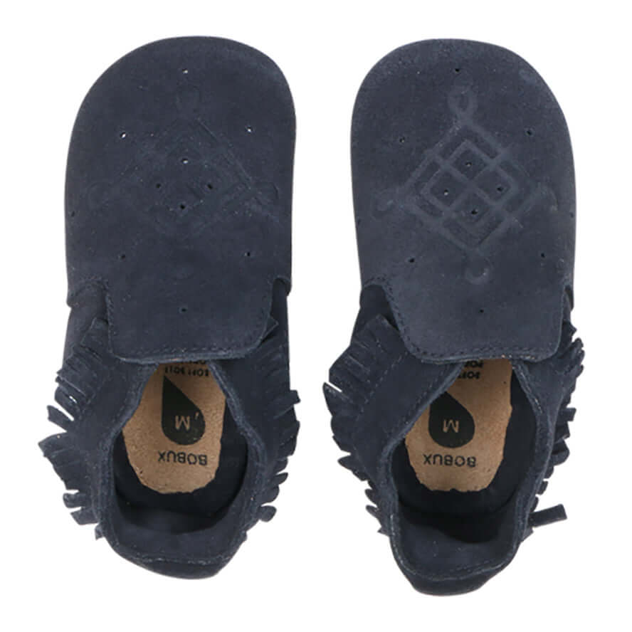 Bobux Soft Sole Moccasin - Gold