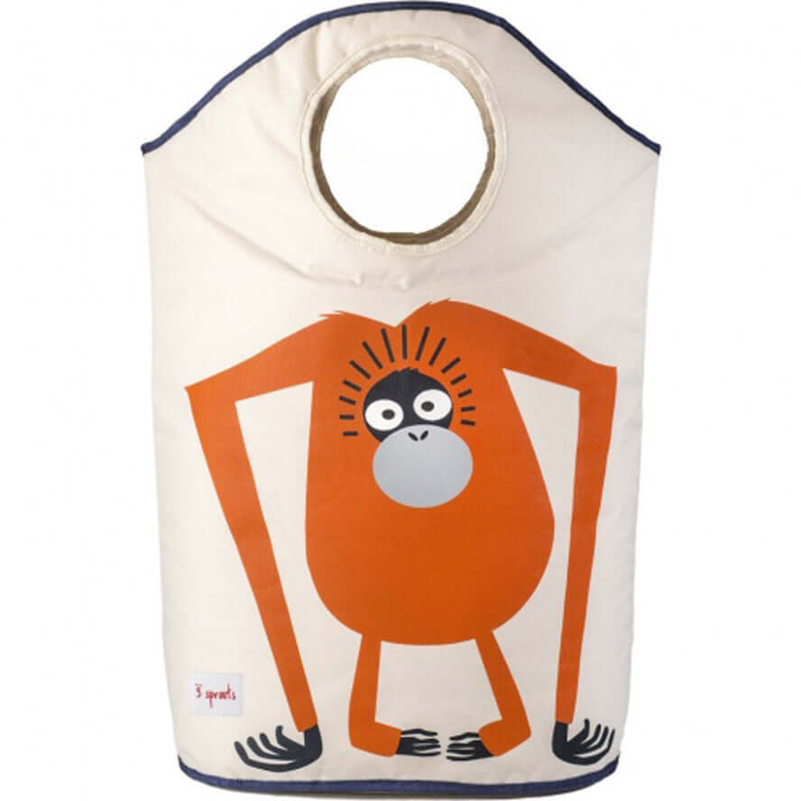3 Sprouts Kids Laundry Hamper - Orangutan