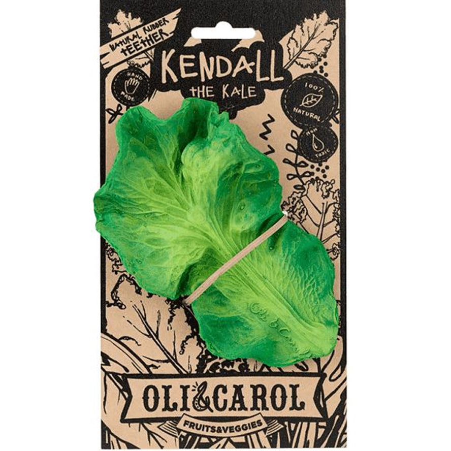 Oli & Carol Chewable Teething - Kendal The Kale