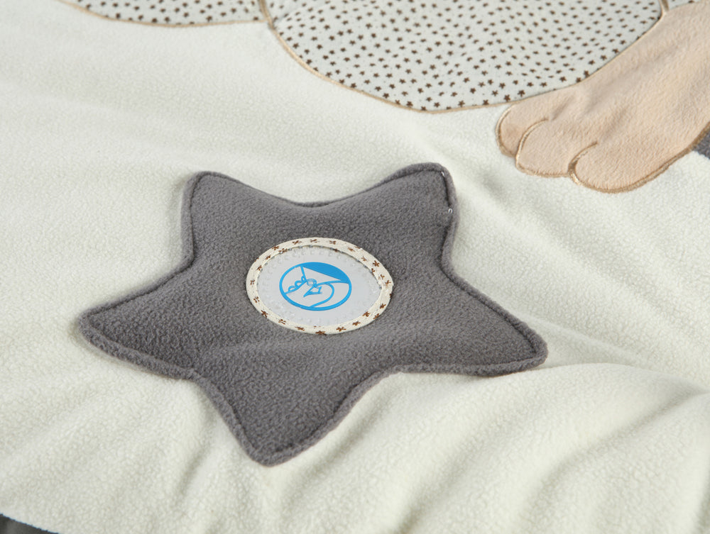 MiniDream Baby Playmat Baby Gym - Moon and Star