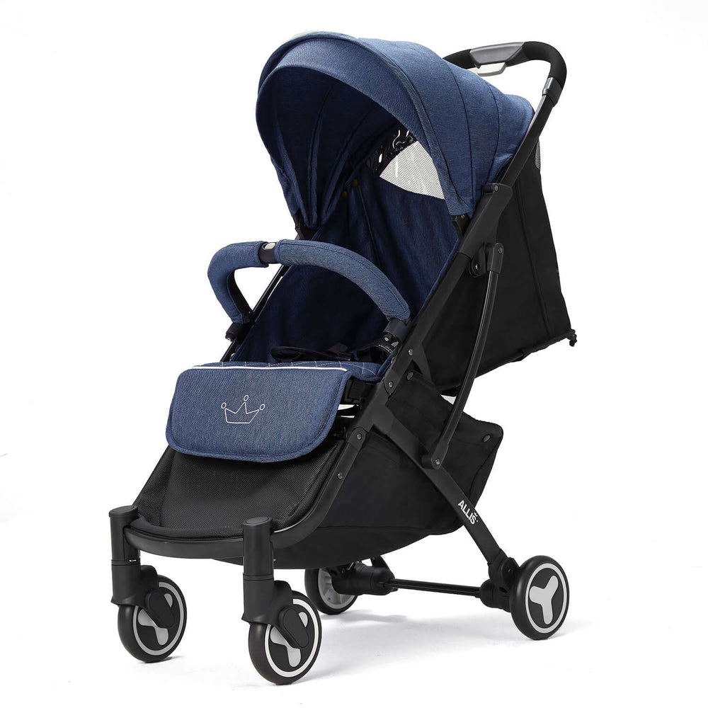 Allis Plume Lightweight Pushchair - Denim