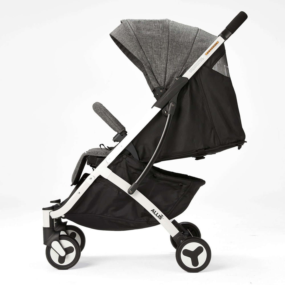 Allis Plume Lightweight Pushchair - Charcoal