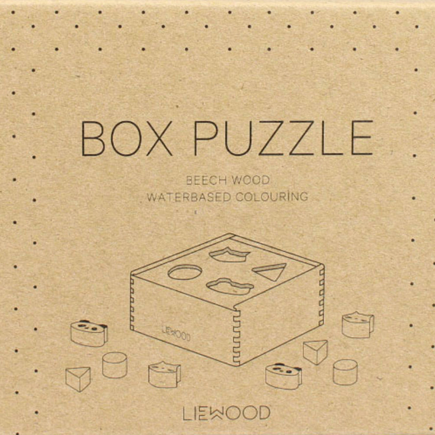 Liewood Mateo Wood Puzzle Box