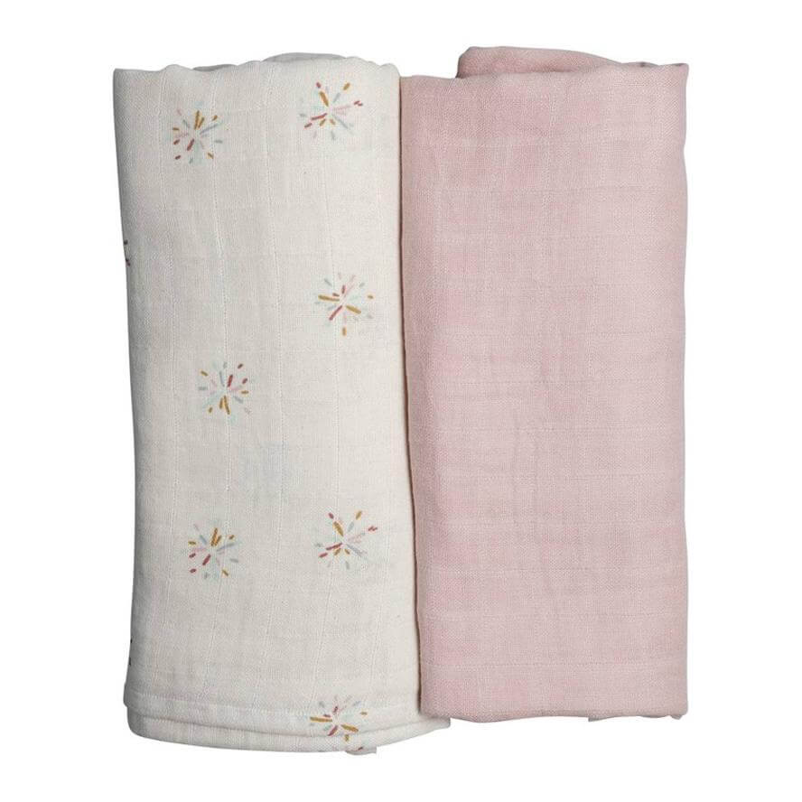 Fabelab Organic Cotton Swaddle - 2 Pack