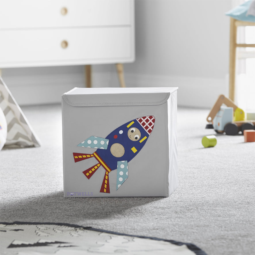 Potwells Toy Storage Box - Rocket