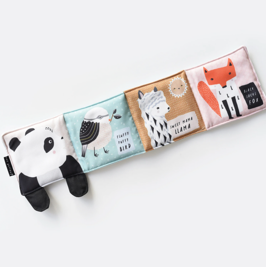 Wee Gallery Baby's First Soft Book - Rolly Polly Panda