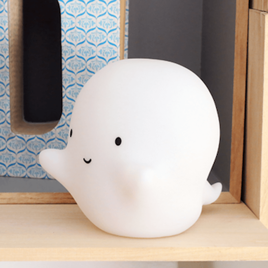 A Little Lovely Company Mini Night Light - Ghost