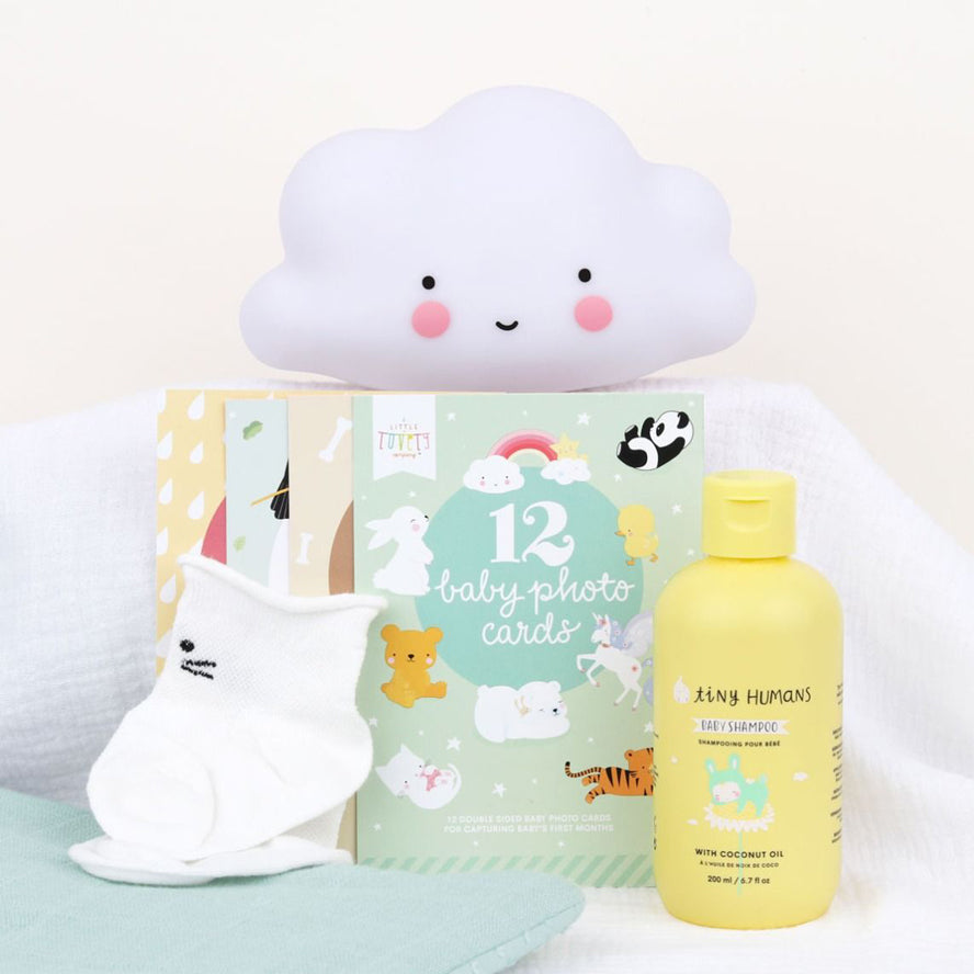 A Little Lovely Company Baby Gift Box - Welcome Little Baby (M)