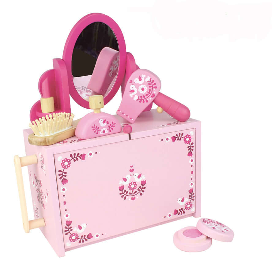 Boxset Make Up Playset Kids Bamboo Toy - Beauty