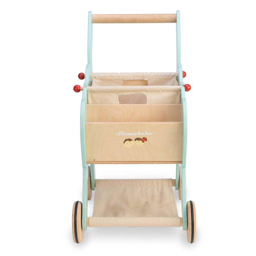 Le Toy Van Shopping Trolley With Detachable Bag