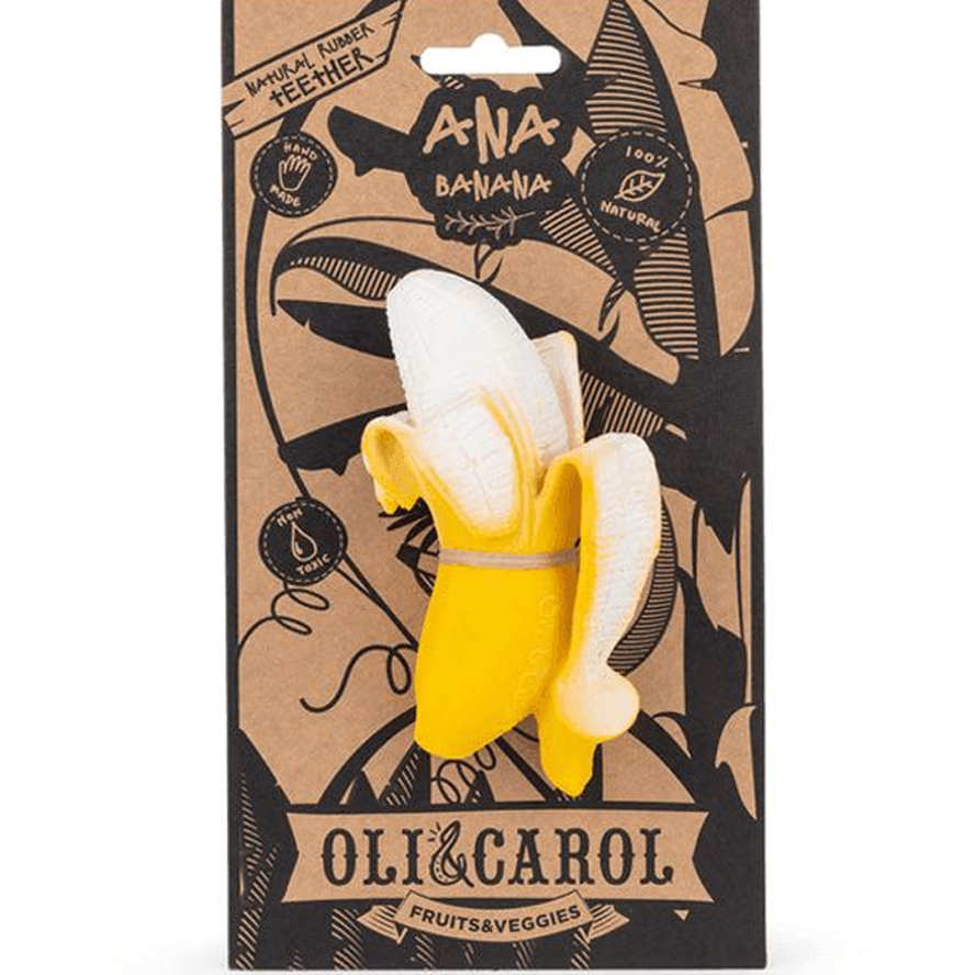 Oli & Carol Chewable Teether - Ana Banana