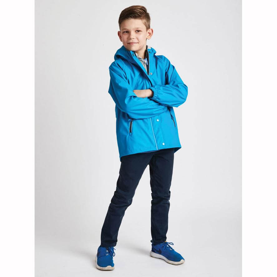 Grass & Air Boys Rainster Turquoise