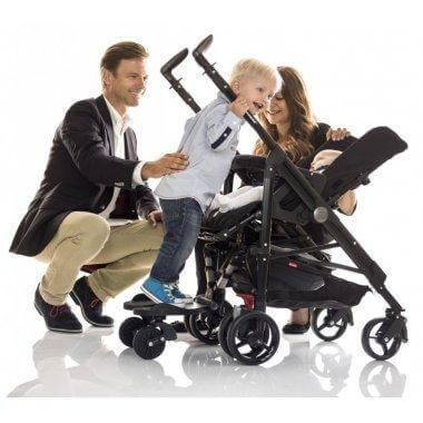 Bumprider Stroller Board Stand On Pushchair Board - Black