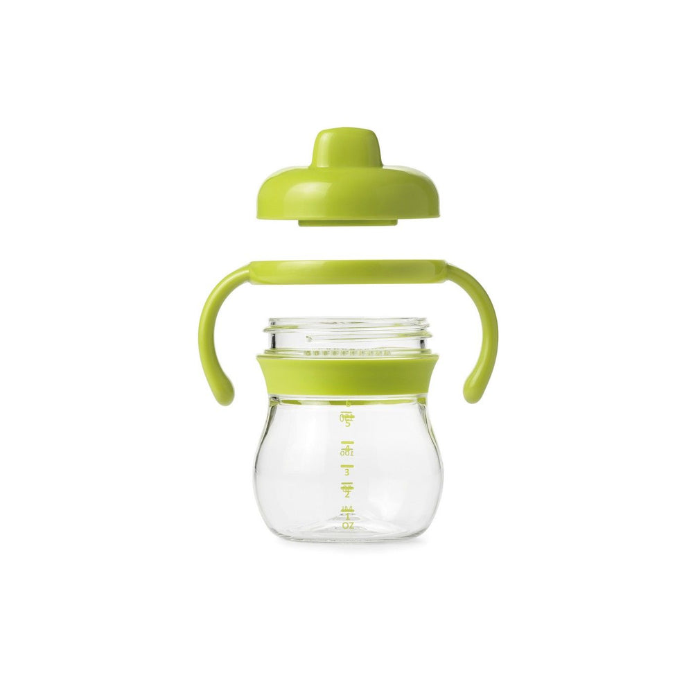 OXO Transitions Hard Spout Sippy Cup with Removable Handles - Green