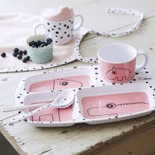 Done by Deer Happy Dots Spoon Set - Powder Pink