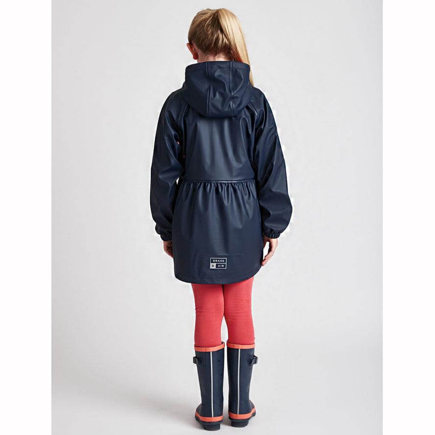 Grass & Air Girls Rainster Navy