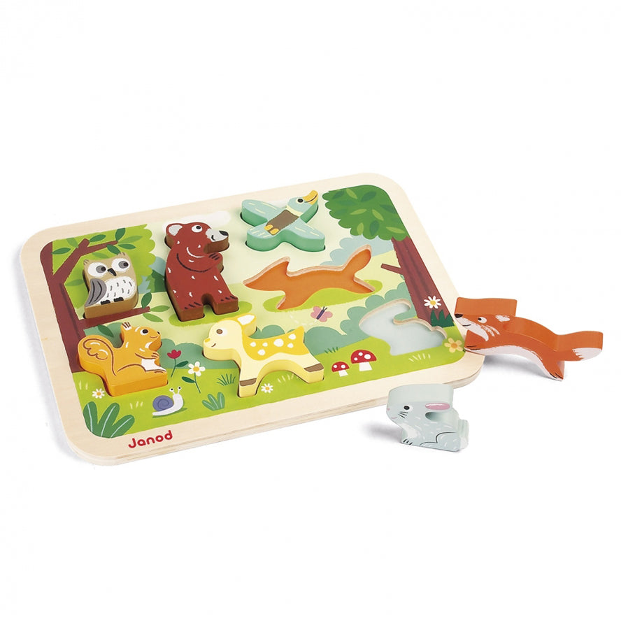 Janod Forest Chunky Toddler Puzzle