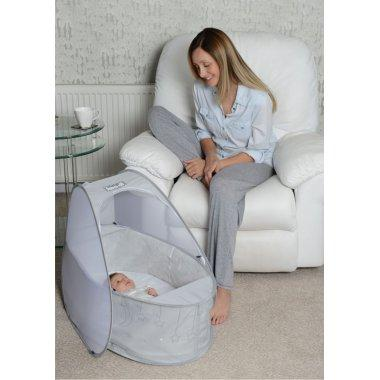 Koo-di Pop-Up Travel Bassinet - Grey 3