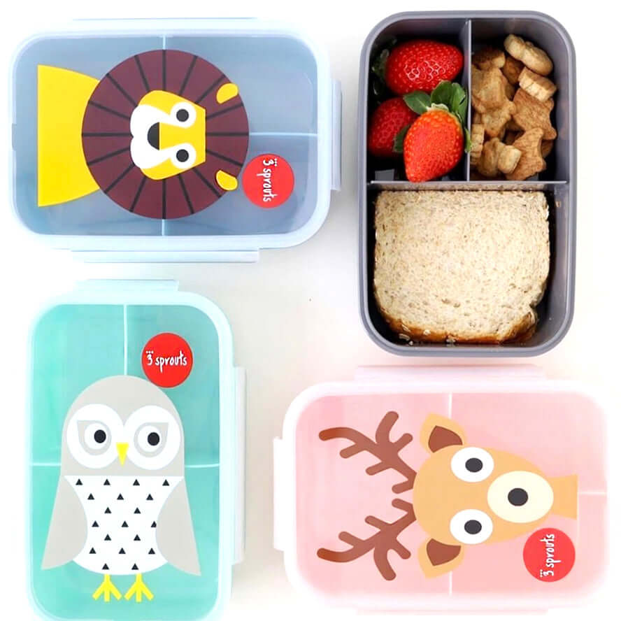 3 Sprouts Bento Box - Bear