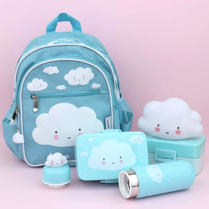 A Little Lovely Company Kids Lunch Box - Cloud