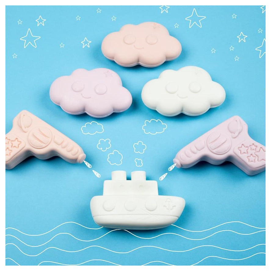 Kids Soap - Nailmatic KIDS Organic Soap - Raspberry Boat