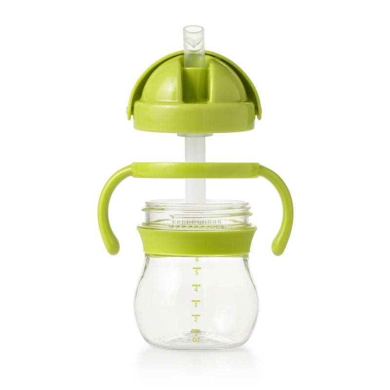 OXO Tot Transitions Straw Cup - Green