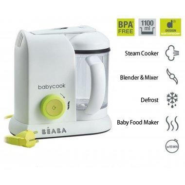 Beaba Babycook 4in1 Baby Food Processor - Neon 2