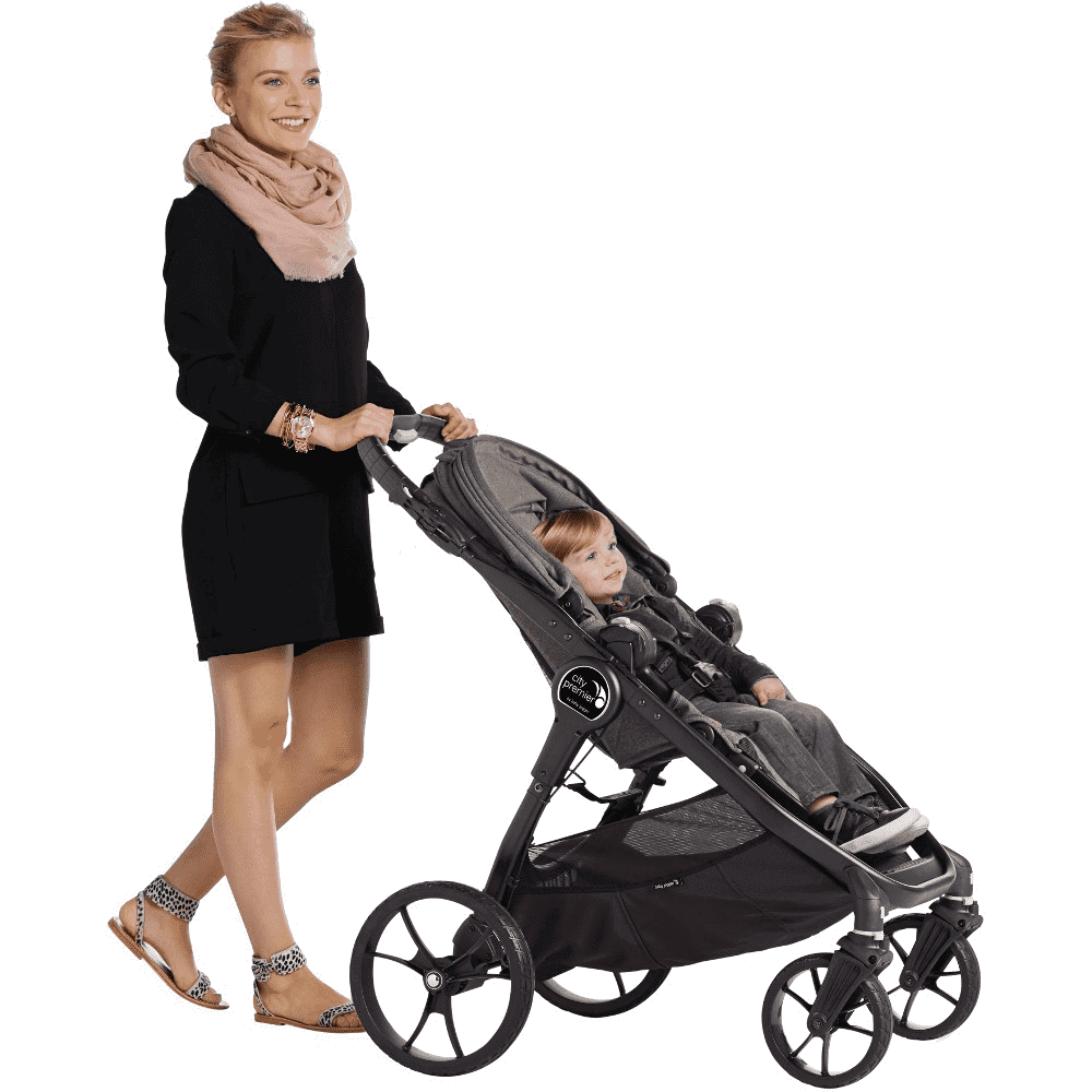 Baby Jogger City Premier Stroller - Taupe