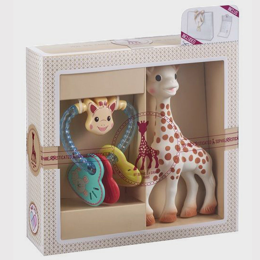 Newborn Gift Set - Sophie la Girafe Classic Creation Baby Gift set