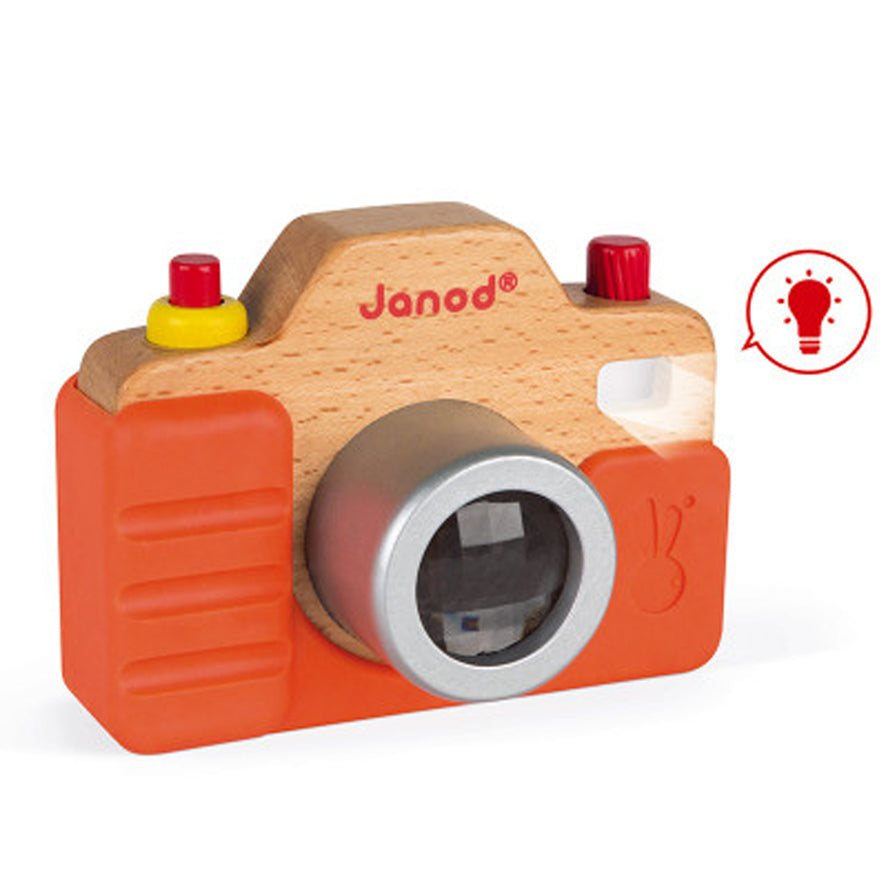 Janod Toy Sound Wooden Camera