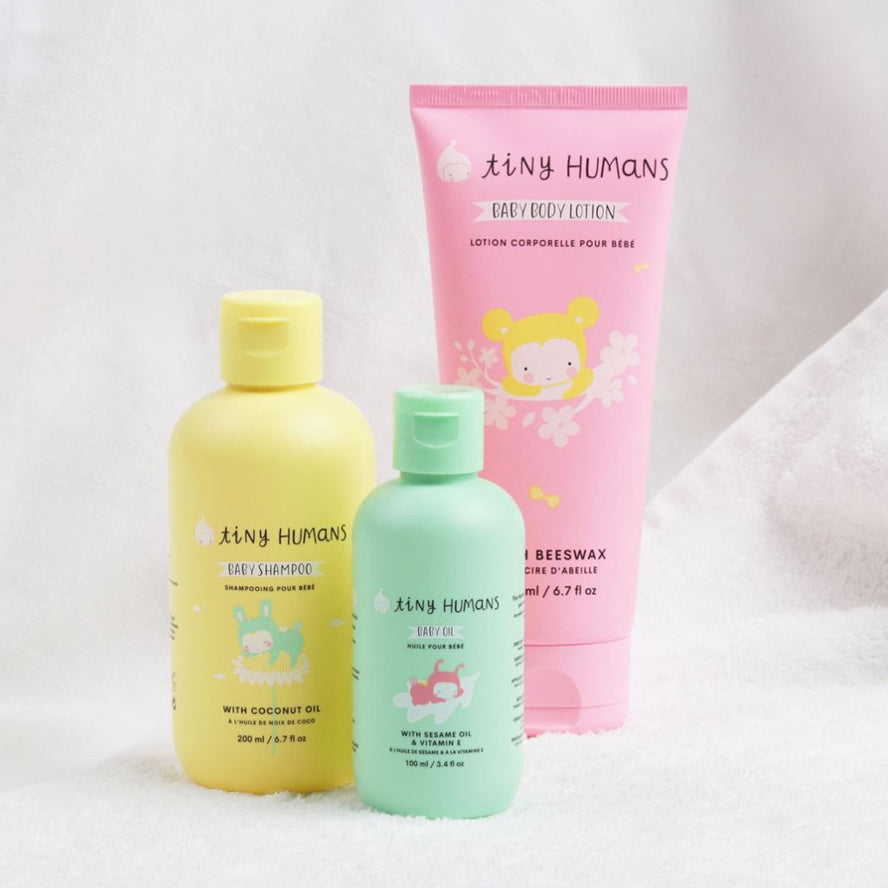 Tiny Humans Natural Baby Shampoo