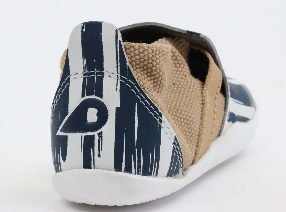 Bobux Step Up Xplorer Baby Shoes - Navy