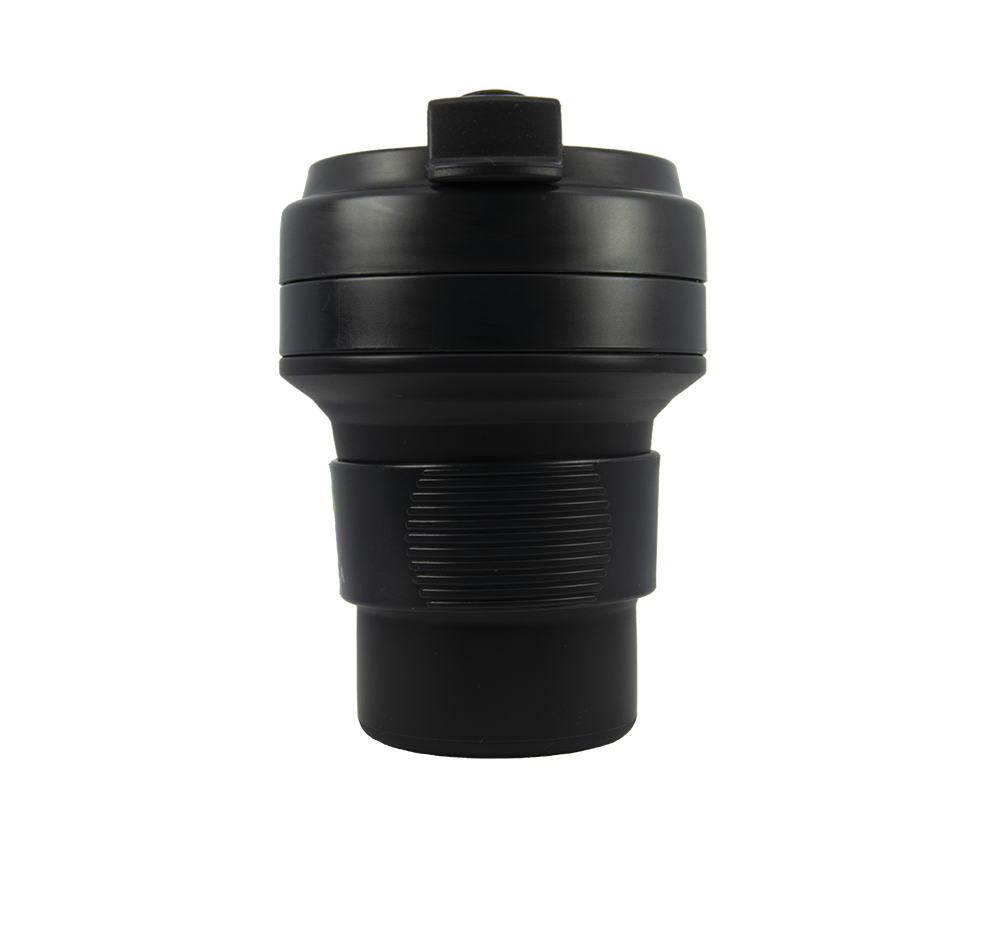 Eco cup | Collapsible coffee cup  - Black 350ml