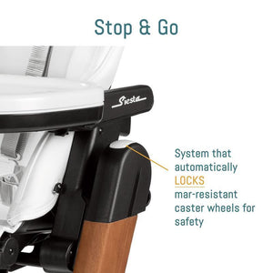 AGIO Siesta High Chair By Peg Perego - Stop and Go | ANB Baby