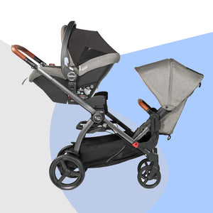 Z4 Duo Stroller (Stroller, Car Seat, Double Adapter)