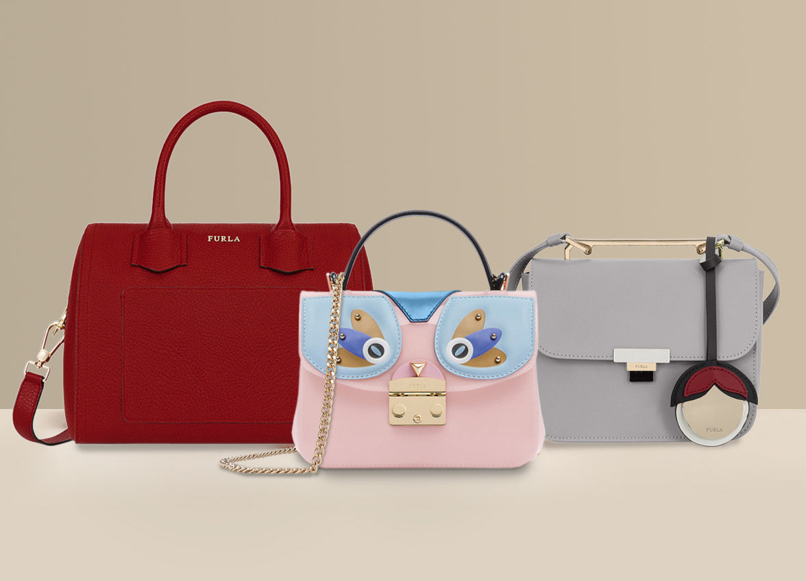 Furla womens leather handbags & crossbody bag http://www.designertagged.com