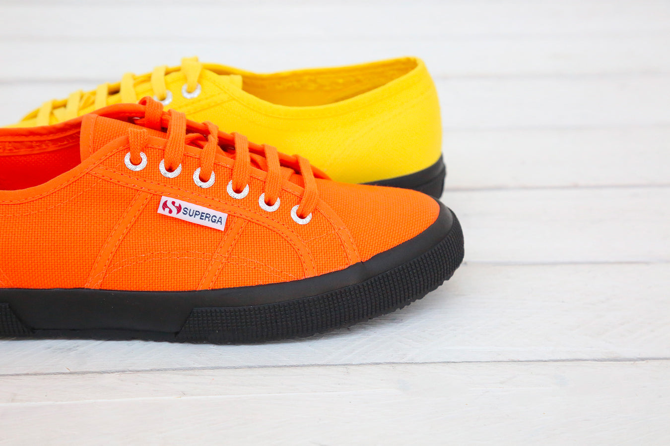 superga colorful canvas plimsolls