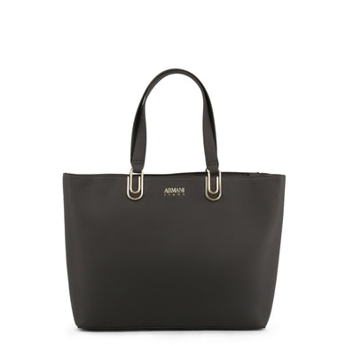 Armani Jeans Large Tote Bag in Charcoal