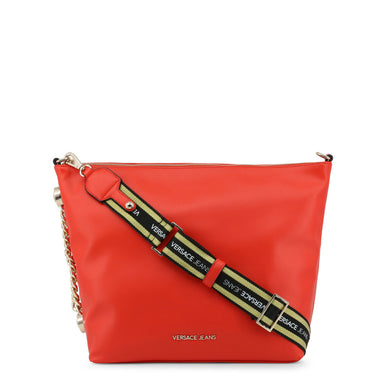 Versace Jeans Contrast Strap  Xbody Bag in Red