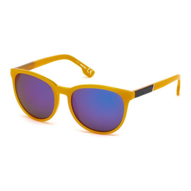 Diesel Round Sunglasses in Orange